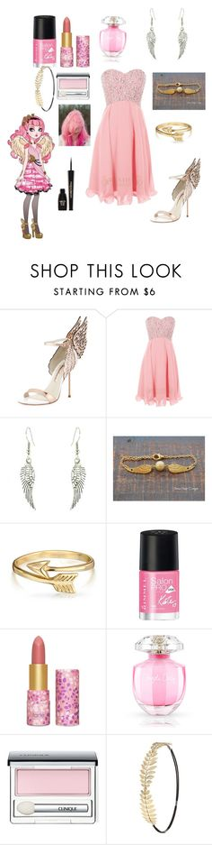 """""""Ever After High-C.A. Cupid"""" by otakugurl77 ❤ liked on Polyvore featuring Sophia Webster, Bling Jewelry, Rimmel, tarte, Victoria's Secret, Clinique, Charlotte Russe and Napoleon Perdis"""