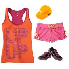 Zumba FItness Outfit. My inspiration to start zumba classes again!