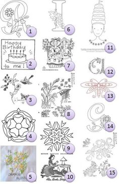 Free hand-embroidery patterns | Needlework News | CraftGossip.com