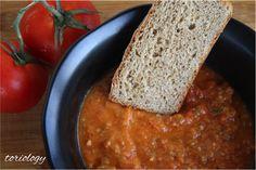 Toriology.com  Roasted Tomato Sausage Soup