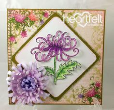 Heartfelt Creations | Enchanted Mum Purple Bouquet