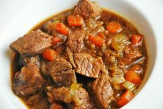 Guinness Beef Stew Recipe – 6 Points+ Looks yummy