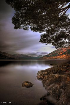 I had a quick stop a Loch Lomond a few years ago and it was beautiful! - Rowardennan, Loch Lomond