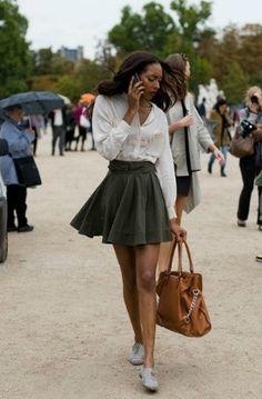 소녀들의공간♠걸스라운지 :: [스커트 코디] 여자를 위한 스커트 코디 tip! post by 걸스라운지