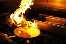 Flaming Saganaki Fried Cheese Recipe