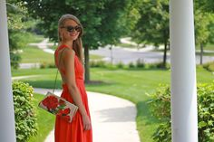 Red sundress #summerstyle #patricianash