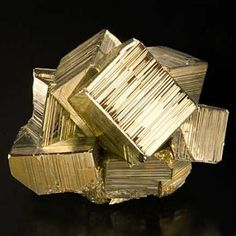 Pyrite cubes / Mineral Friends <3