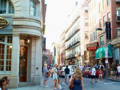 North End, Boston #travel #massachusetts