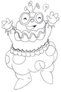 Candyland Character Page Coloring Sheets Candyland Coloring Pages