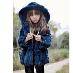 >> Click to Buy << 2016 new children's paternity Hot Rabbit fur coat fur grass hooded coat Korean girls hooded plus cotton fashion #Affiliate