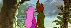 The first time I saw Disney's 1973 animated movie Robin Hood might've been the first time my child self wondered if it was possible to marry a cartoon char