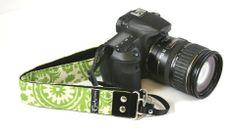 "Penelope Pear 1.5"" Camera Strap"