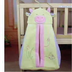 Baby Bed Storage Hanging Crib Diaper Organizer