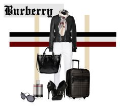 """""""Crazy for Burberry!"""" by tes-gray ❤ liked on Polyvore featuring Burberry"""