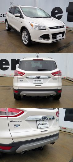 This Ford Escape 2015 features a Hidden Hitch Trailer Hitch! One of the top accessories for the model, and awesome for towing and carrying bikes! Durable, fully welded and corrosion resistant.