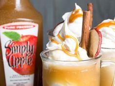 Simply Apple®  Ice Cream Float - This recipe takes the classic ice cream float…