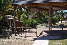 Morrumbene Beach Resort, located in the Inhambane Province of Mozambique, offers perfect weather, white sandy beaches and a beaten track to stray from Sandy Beaches, Beach Resorts, Pergola, Outdoor Structures, Patio, Gallery, Outdoor Decor, Home Decor, Decoration Home