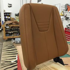 """First signs of production in 16' Done for the day. #notdoneyet #custominterior #customupholstery #corvettestingray #buxseats #buxbuckets #buxcustoms…"""