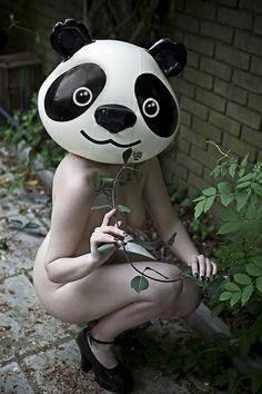 マスクな裸の女の子 - Ben Hopper