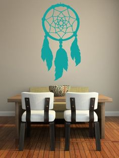 Native American Indian Dream Catchers | Wall Decal Dream Catcher Native American Feathers Web Indian