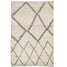Modern Moroccan Rug | From a unique collection of antique and modern moroccan and north african rugs at https://www.1stdibs.com/furniture/rugs-carpets/moroccan-rugs/