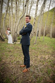 A spring wedding in Crested Butte. Photo by Alison White Photography