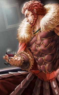 Fate/Zero - Rider (Alexander the Great) 250x400
