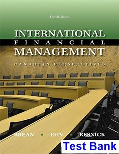 The 39 best test bank download images on pinterest international financial management canadian canadian 3rd edition brean test bank test bank solutions manual fandeluxe Choice Image