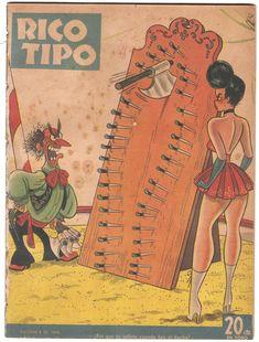 Rico Tipo fue un semanario argentino de humor que apareció desde finales de 1944 hasta el año 1972. Fue fundado y dirigido por Guillermo Divito. José Antonio Guillermo Divito había llegado a muy co…