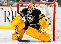Fleury!!! Nhl Hockey Teams, Pens Hockey, Sports Teams, Pittsburgh Sports, Pittsburgh Penguins Hockey, Goalie Pads, Lets Go Pens, Marc Andre, My Boys
