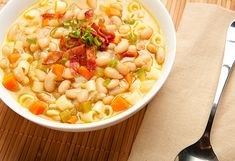 Lidia Bastianich Recipe That Freezes Well - Pasta and Beans - Oprah.com