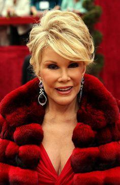joan rivers in fur   Joan Rivers Style » Lookbook   http://www.pinterest.com/pin/256775616229870298/