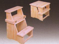 escaleras tipo banco en madera - Buscar con Google
