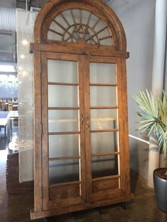 Think awesome reclaimed architectural pieces as a focal point for the dining room like this from Artemano China Cabinet, Dining Room, Architecture, Storage, Awesome, Furniture, Home Decor, Arquitetura, Purse Storage