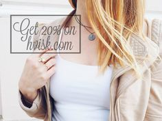 HVISK jewelry discount code.