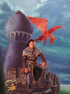 Dragonlance, Classics Series, Dalamar the Dark by Bradley Williams.