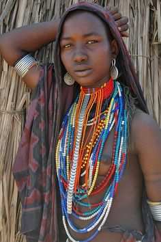 Africa |  Photo taken in Omo Valley, Ethiopia | © wgbekkema, via Flickr and part of his Worldtrip photo series.