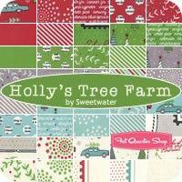 Holly's Tree Farm Yardage Sweetwater for Moda Fabrics