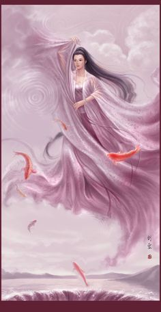 asie art liuyun - Page 4 Asian Dragon Tattoo, World Mythology, Geisha Art, Abstract Digital Art, Asian Angels, Creative Pictures, Angel Art, Illustrations And Posters, Chinese Art