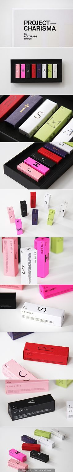 I love the simplicity of Project Charisma #packaging curated by Packaging Diva…