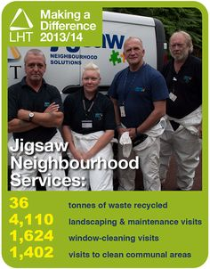 Making a Difference 2013/14 - Jigsaw