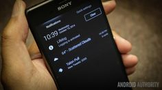 Sony Xperia Z3, New Pins, Android