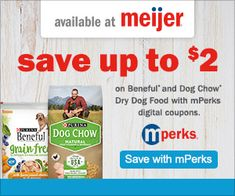 Save on Purina Dog Chow and Beneful Dog Food at Meijer with MPerks! #CheckYourPetFood #CollectiveBias #ad
