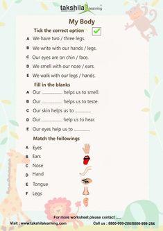english grammar worksheets for class 1 Worksheet For Class 2, 2nd Grade Reading Worksheets, English Worksheets For Kindergarten, English Worksheets For Kids, English Lessons For Kids, Reading Comprehension Worksheets, Science Worksheets, School Worksheets, Kids English