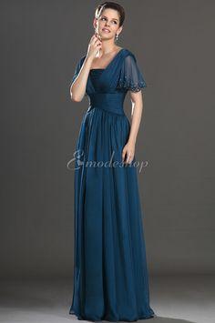 Perlenbesetztes extravagantes Brautmutterkleid/ Abendkleid mit Gürtel