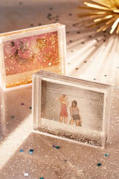 Shop Instax Wide Glitter Frame at Urban Outfitters today. We carry all the latest styles, colours and brands for you to choose from right here. Polaroid Picture Frame, Glitter Picture Frames, Acrylic Picture Frames, Glitter Frame, Glitter Pictures, Glitter Photo, Polaroid Pictures, Mini Polaroid, Glitter Room