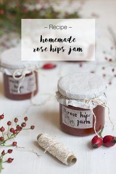 Rosehip Jam Recipe, Look What I Made, Jam Recipes, Preserving Food, Jar, Homemade, Cooking, Food Storage, Koken