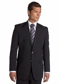 MICHAEL Michael Kors Black Classic Fit Solid Black Blazer