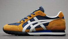 Navy and Tan Asics Onitsuka Tiger Colorado 85 New Shoes, Men's Shoes, Shoes Sneakers, Nike Outfits, Nike Fashion, Mens Fashion, Nike Boots, Baskets, Sneaker Magazine