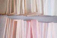 Once Wed: Ombre Dyed Cards.